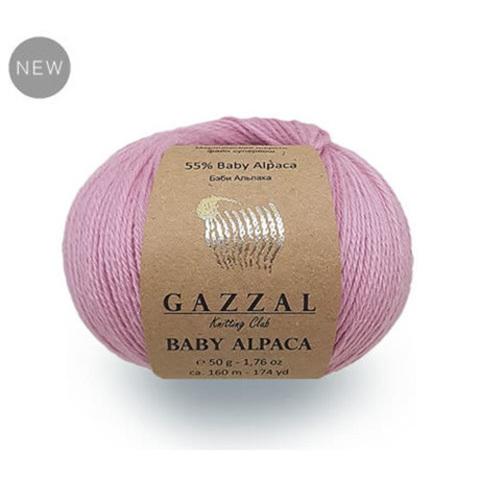 GAZZAL BABY ALPACA (45% мериносовая шерсть файн супервош, 55 % беби Альпака, 50г/160м)