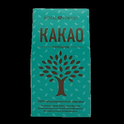 Какао порошок натуральный ROYAL FOREST, 100 гр