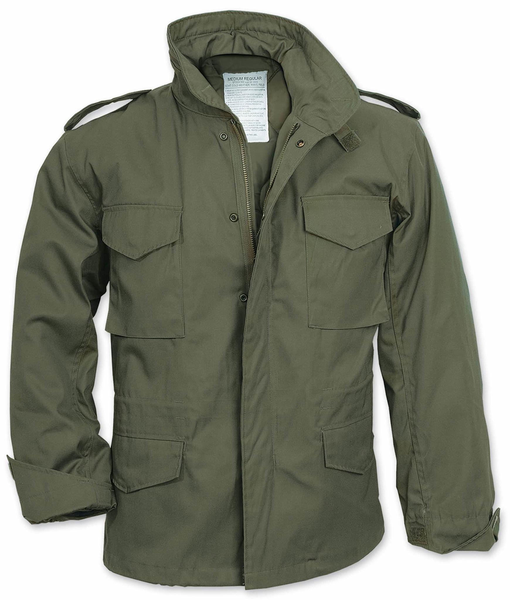 Куртка полевая Surplus M-65 Field Jacket (олива - olive)