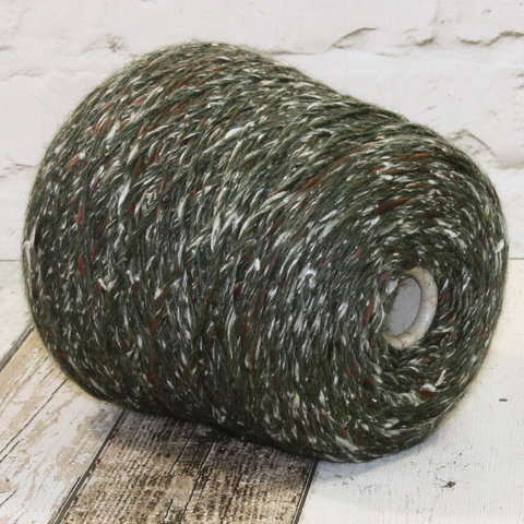 Твид PECCI FILATI PAELLA 150 зелено-коричневый
