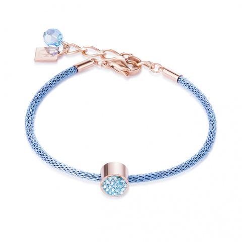 Браслет Coeur de Lion 0218/30-2000 цвет голубой