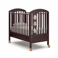 Кровать детская Макс с ящиком махагон