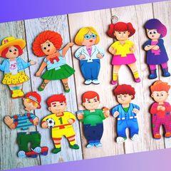 Деревянные пазлы Друзья ToySib 03014
