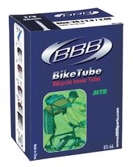 """Велокамера 26"""" с велониппелем BBB BTI-65 1 3/8 FV"""
