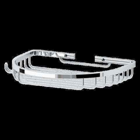 Полочка-решетка полукруглая 26 см  RYNA    RYN010 FBS