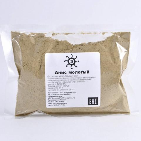 Анис семена молотые, 100г