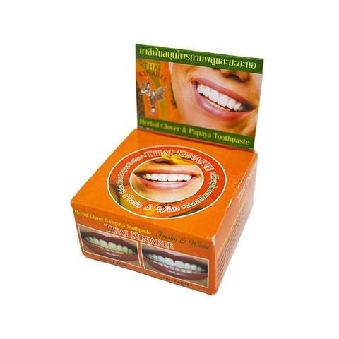 Тайская зубная паста с экстрактом