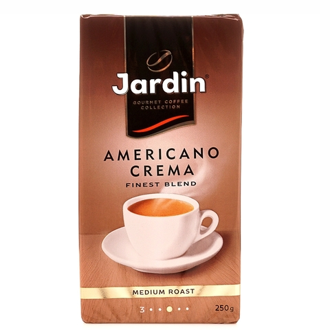 Кофе JARDIN Americano молотый 250 гр в/у РОССИЯ