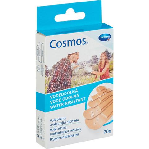 Набор пластырей Cosmos водоотталкивающие 5 размеров (20 штук в упаковке)