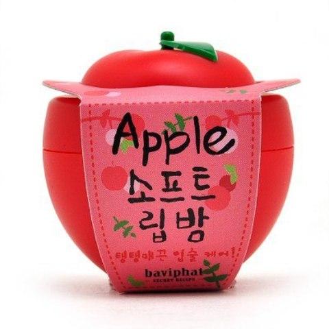 BAVIPHAT (URBAN DOLLKISS) Lip Бальзам для губ яблоко Apple Soft Lip Balm 6гр