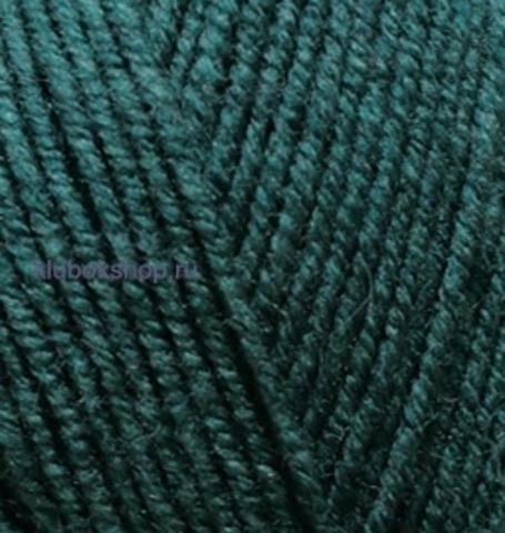 Пряжа Lanagold FINE (Alize) 426 Темно-зеленый - купить в интернет-магазине недорого klubokshop.ru