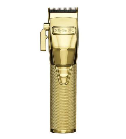 Машинка для стрижки волос Babyliss ChromFX EDM Technology Золотая