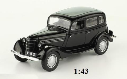 Модель Автолегенды №255 ГАЗ 11-73