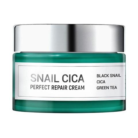 Esthetic House Snail Cica Perfect Repair Cream интенсивный восстанавливающий крем с муцином улитки и центеллой