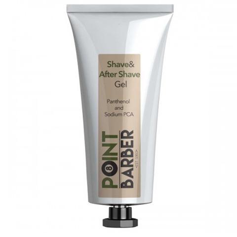 Farmagan Point Barber: Гель до и после бритья (Shave & After Shave Gel), 100мл