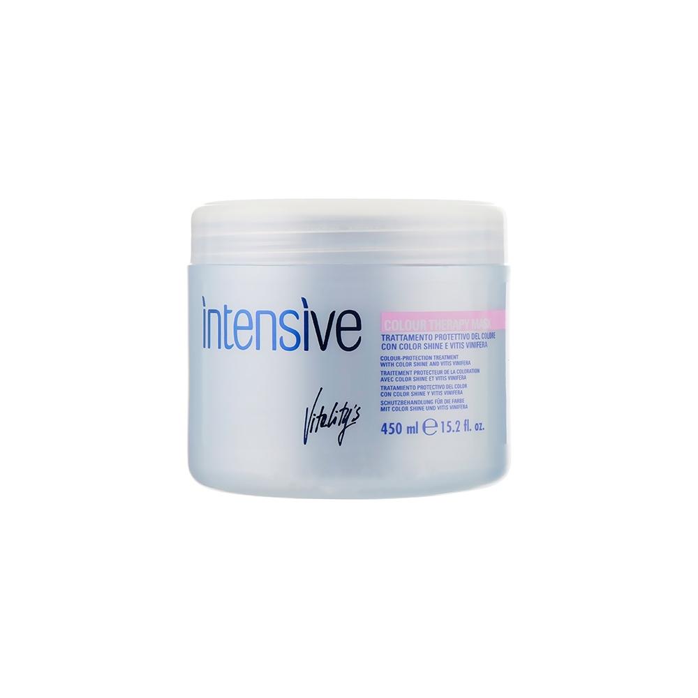 Маска для окрашенных волос с протеинами риса