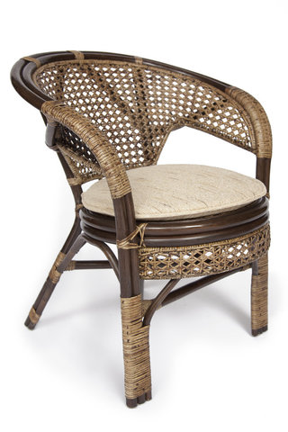 Кресло Пеланги из натурального ротанга