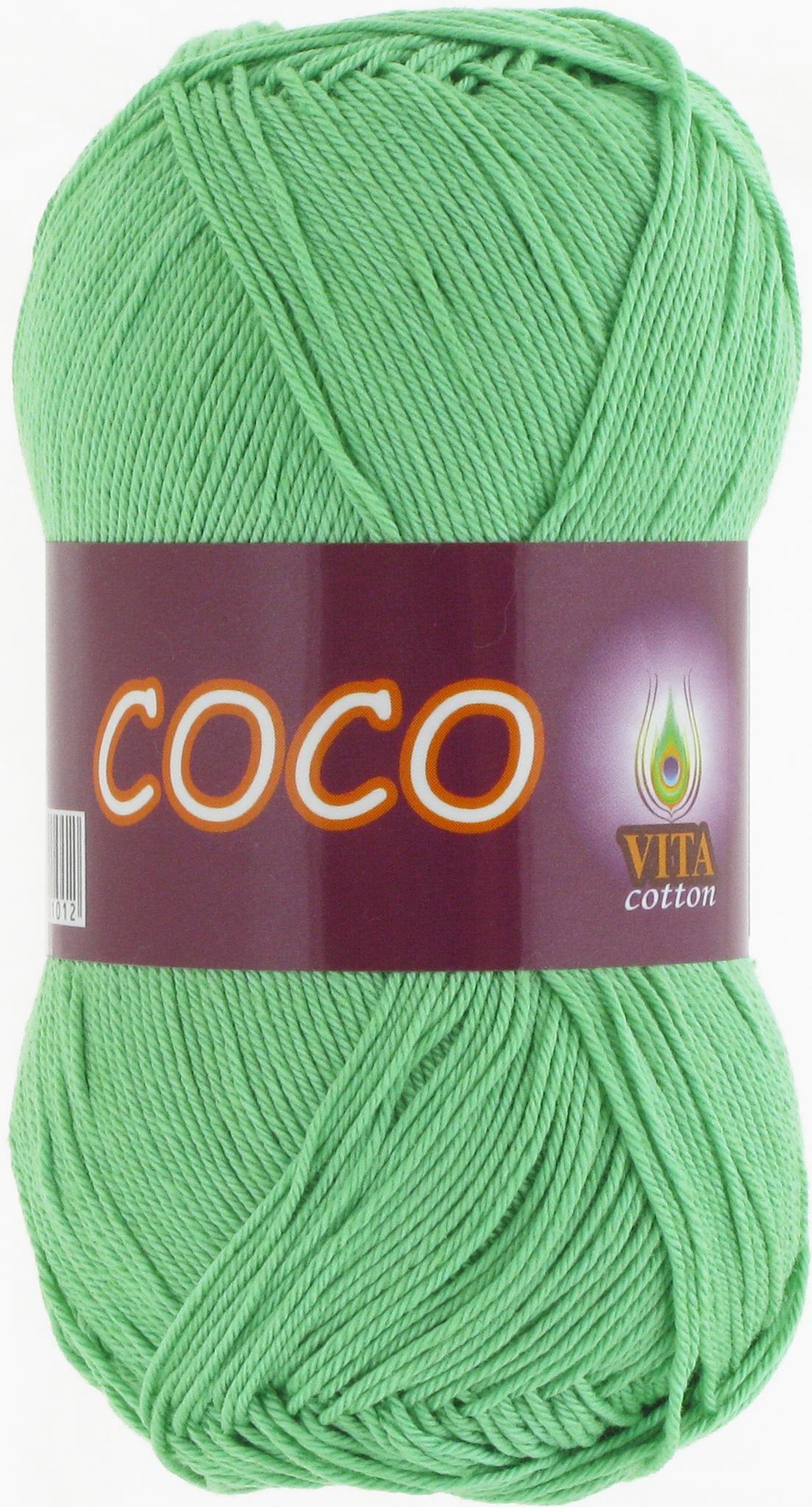 Пряжа Vita Coco 4324 ментол