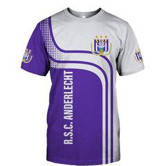 Футболка 3D принт, ФК Андерлехт (3Д FC R.S.C. Anderlecht)