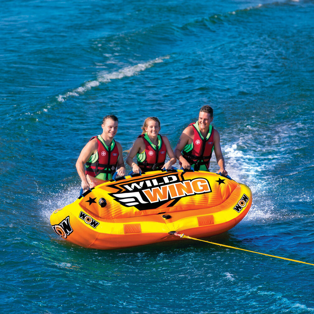 "Towable ski tube ""Wild wing"", 3 person"