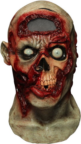 Маска Зомби--пульсирующий мозг