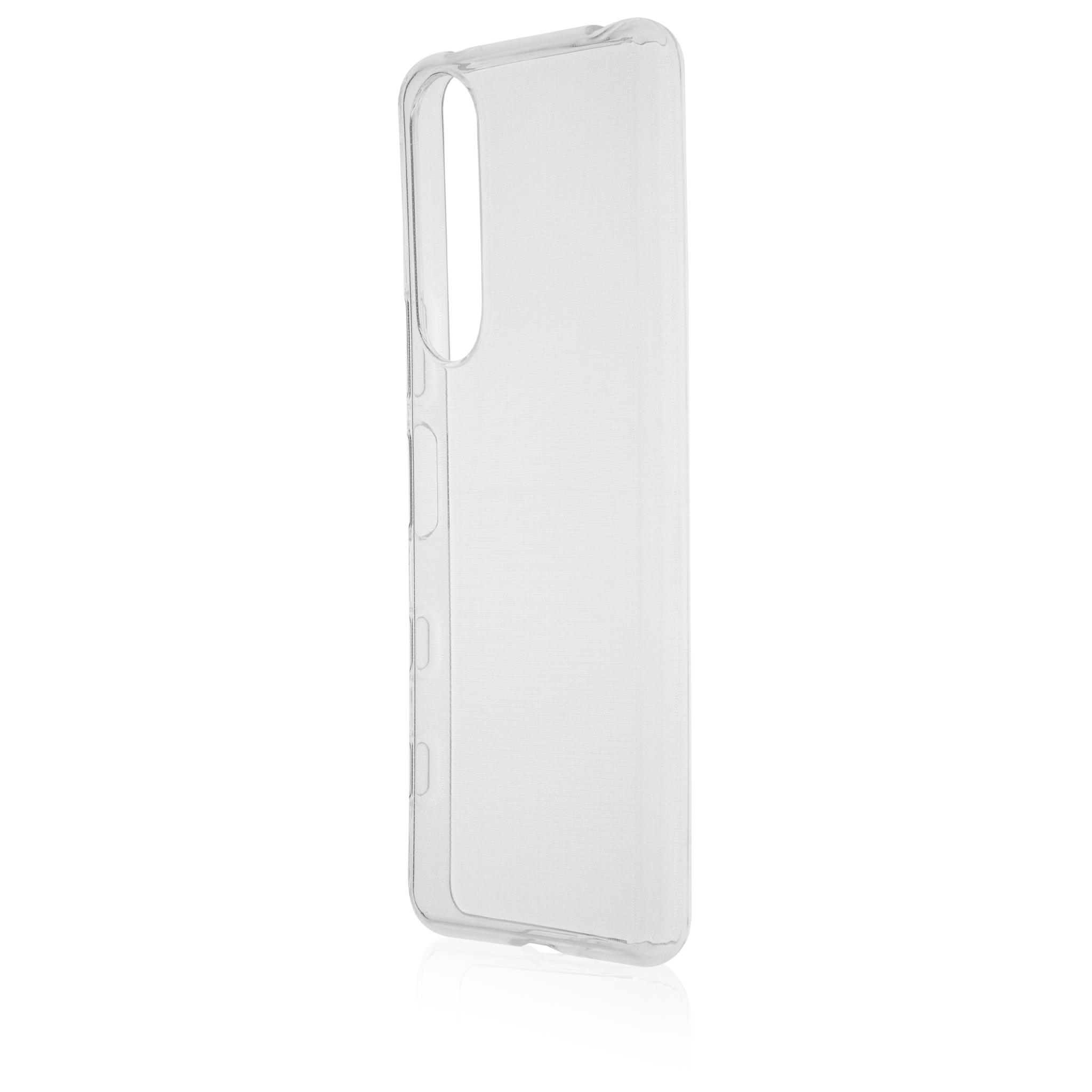 Силиконовая накладка для Xperia 5 III купить в Sony Centre, прозрачная