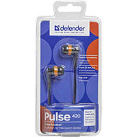 Гарнитура DEFENDER Pulse 420 orange