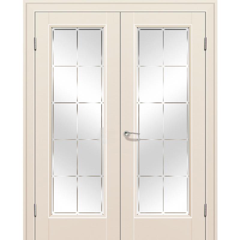 Двустворчатые двери Межкомнатная дверь экошпон Profil Doors 92U магнолия сатинат распашная двустворчатая остеклённая 92-u-mangolia-por-dvertsov.jpg