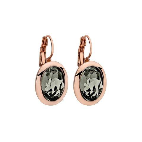 Серьги Tivola Black diamond 303032 BW/RG