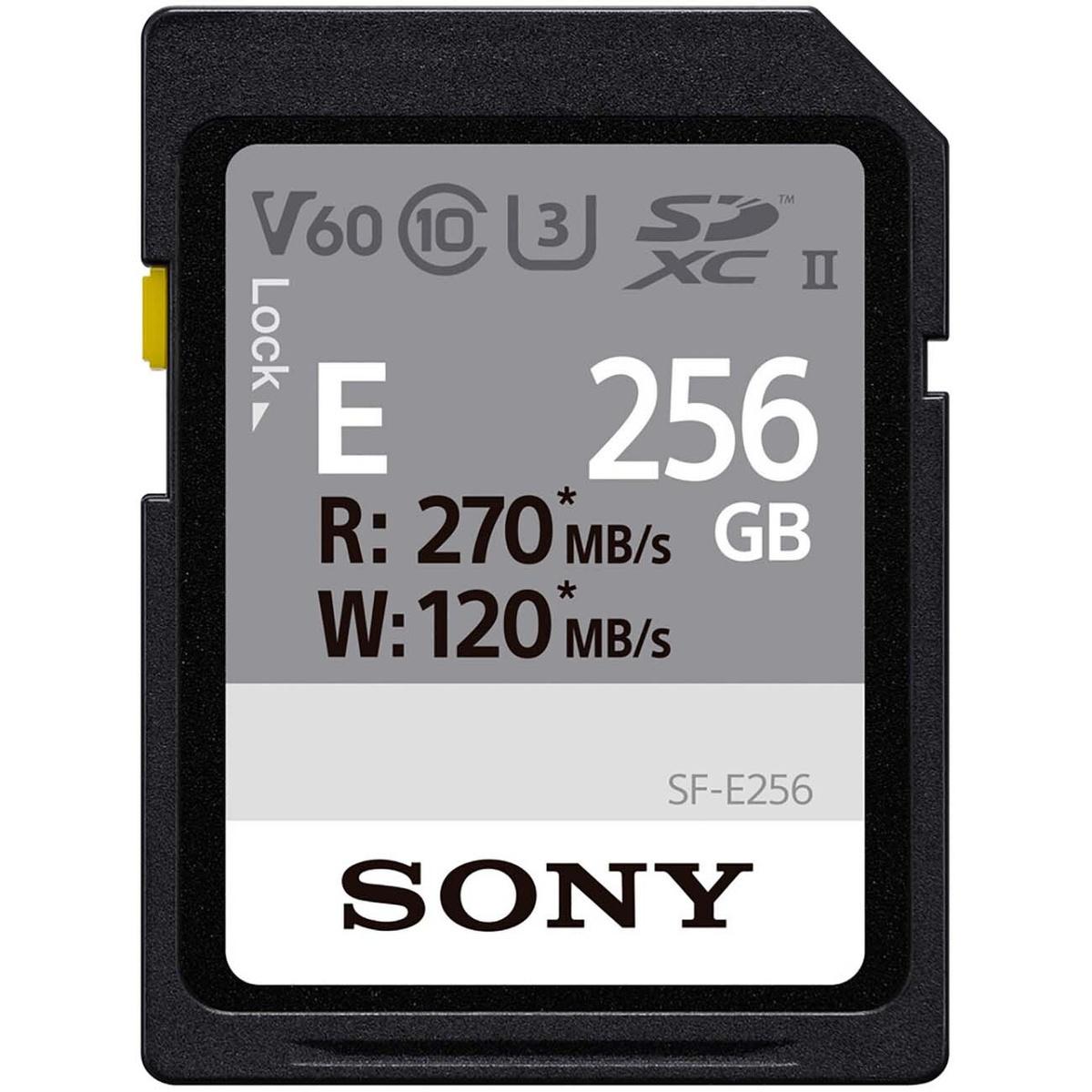 Карта памяти SD Sony SF-E256