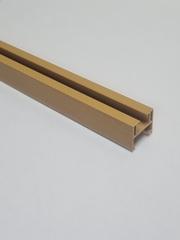 Верхняя направляющая для двери-гармошка, длина 260 см, цвет Орех миланский