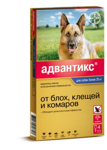 Адвантикс для крупных пород собак более 25 кг