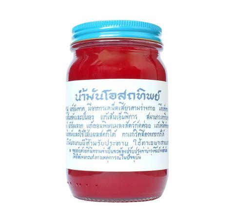 Традиционный красный тайский бальзам OSOTIP 100 мл