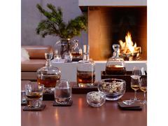 Набор из 2 стаканов Renfrew Whisky с деревянными подставками, 270 мл, фото 2