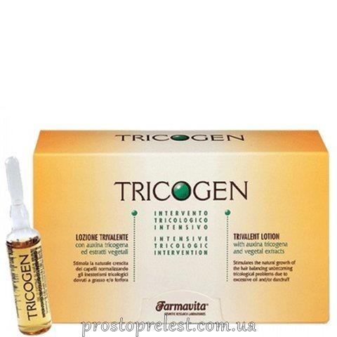 Farmavita Tricogen Lotion - Лосьйон проти лупи та випадіння волосся