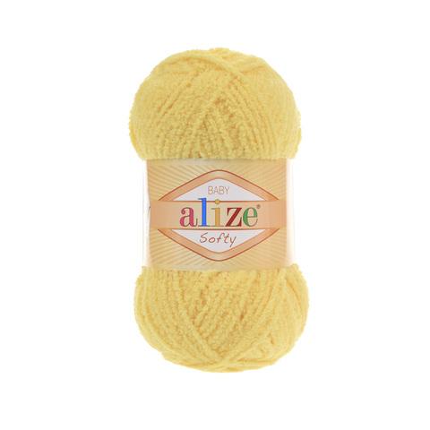 Пряжа Alize Softy лимонный 187