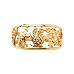 017098 - Кольцо из золота
