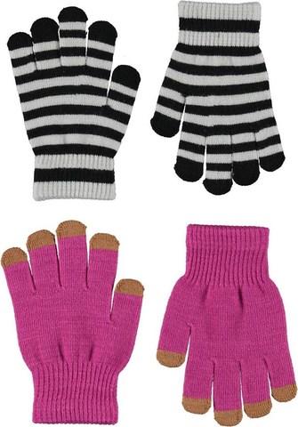 MOLO Kei перчатки демисезонные для девочки (в комплекте 2 пары)