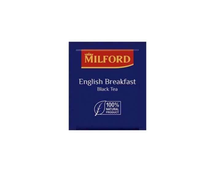 Чай черный в пакетиках Milford Английский Завтрак, 200 пак/уп