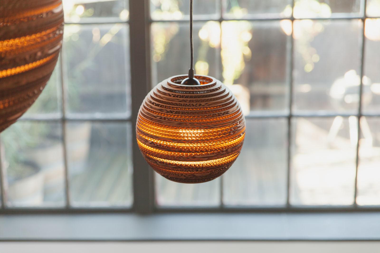Подвесной светильник Bell Scraplight by Graypants D25