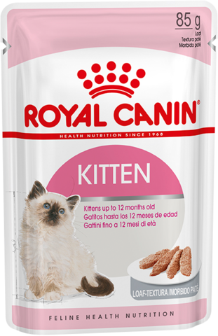 Kitten Instinctive (паштет) - Влажный корм для котят с 4 до 12 месяцев 85г.