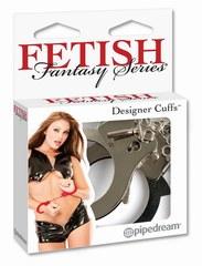 Металлические наручники Designer Cuffs - Silver