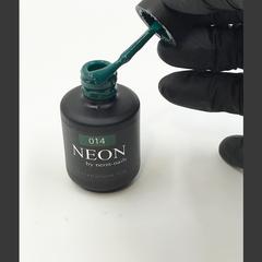 NEON, гель-лак Emerald № 014 , (12 ml) изумрудный