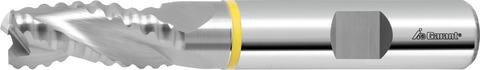 Фреза для черновой обработки твердосплавная с внутренним подводом СОЖ без покрытия