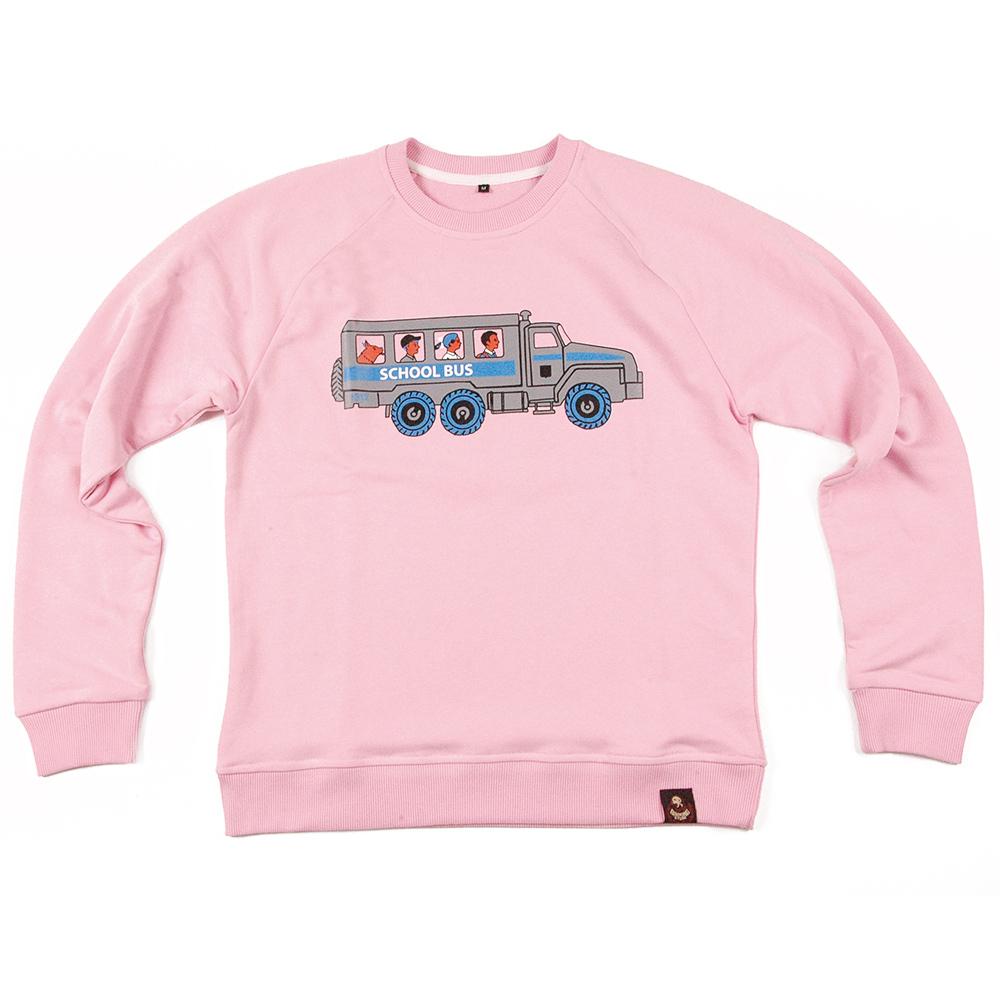 Скулбас 1312 / розовый свитшот