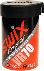 Мазь Swix VR070 +1/+3C, 45гр Red
