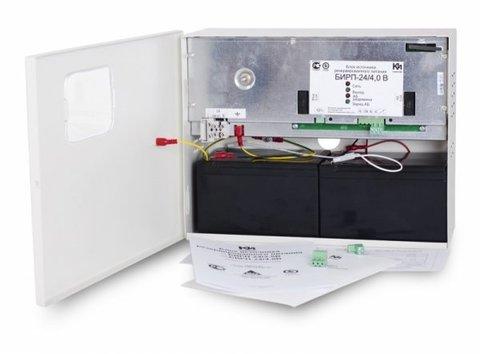 Источник вторичного электропитания резервированный БИРП-24/4,0В