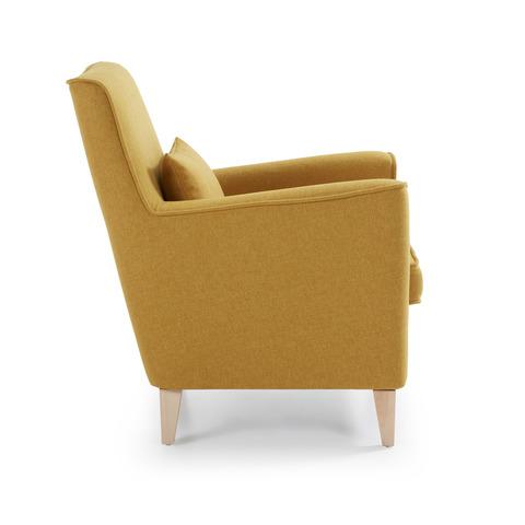Кресло Fyna горчичное