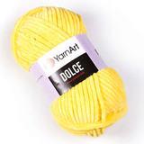 Пряжа YarnArt Dolce желтый 761