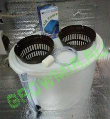 Growpot 15 литров (овальное ведро с крышкой)